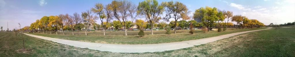 Keystone Trail - Biketrail in Omaha - Im Herbst