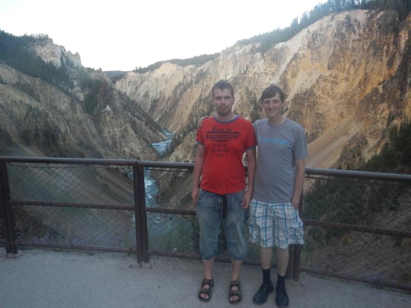 Auch einen Grand Canyon  haben wir gesehen.