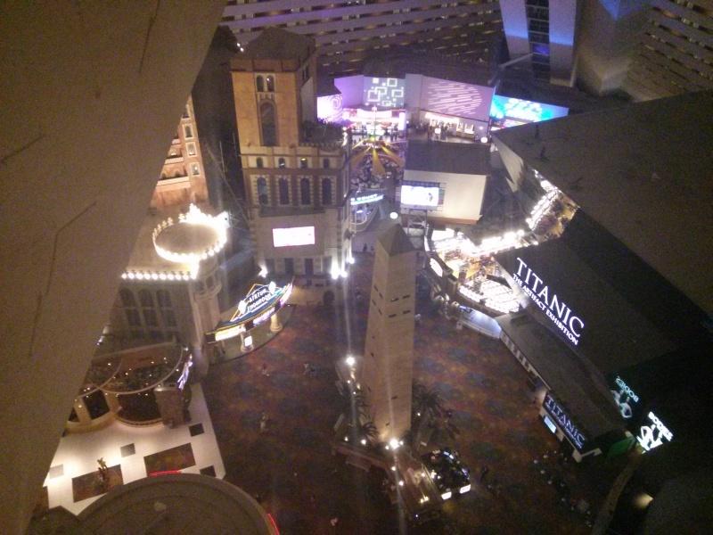 Das Luxor Hotel von Innen