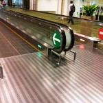 Rollbaender auf Flughafen in Singabpur