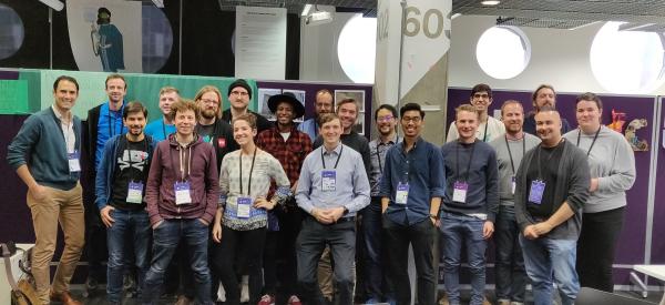 Participants in MozFest 2018 met to discuss open source wealth distribution.